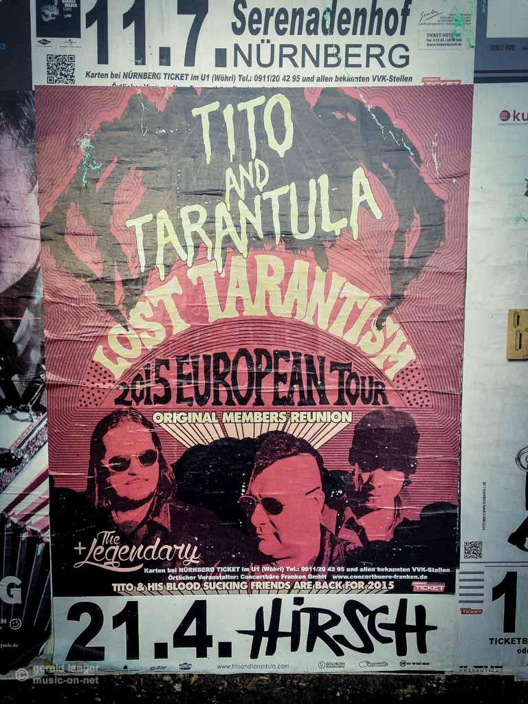 Tito & Tarantula - Plakat