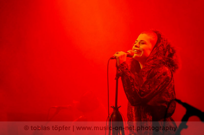 Kovacs am 14. Mai 2015 in Frankfurt am Main – Women Of The World Festival - © Tobias Töpfer