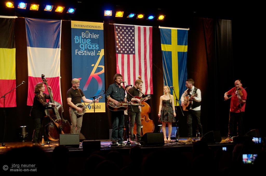 New Step In Grass & Dunderhead beim Bluegrass Festival 2015 in Bühl