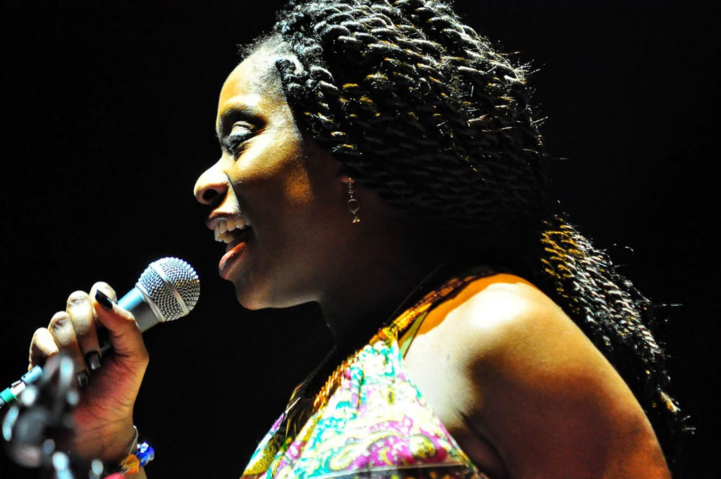 Lizz Wright & Iyeoka beim Women Of The World Festival 2015 in Frankfurt am Main