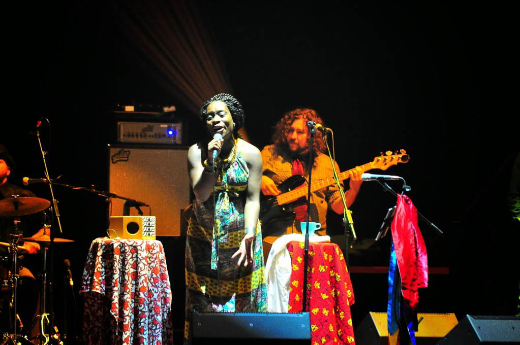 Lizz Wright & Iyeoka beim Women Of The World Festival 2015 in Frankfurt am Main