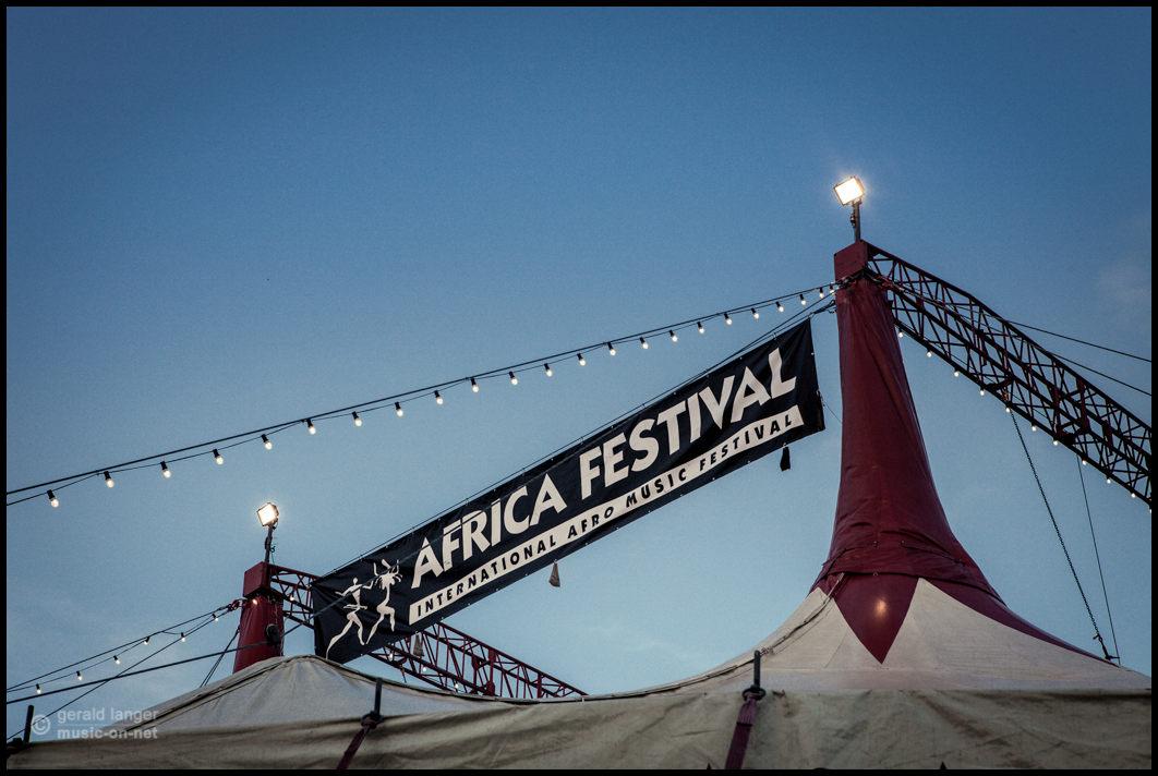 Africa Festival Zelt © Gerald Langer