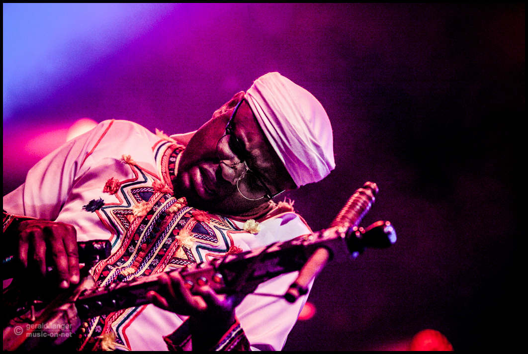 Bob Maghrib beim 27. Africa Festival in Würzburg am 7. Juni 2015