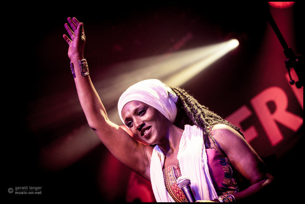 Mo'Kalamity And The Wizards beim 27. Afrika Festival in Würzburg am 7. Juni 2015