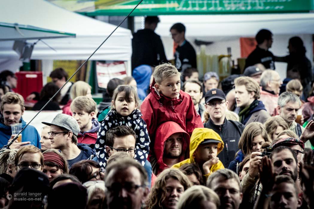 Pupkulies & Rebecca beim Umsonst und Draussen Festival in Würzburg am 20. Juni 2015 © Gerald Langer