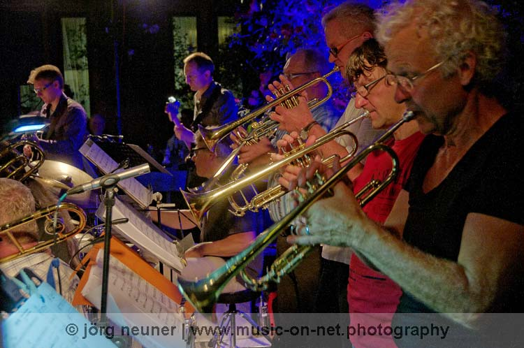 Jazz Association Orchestra | Baden-Baden | Altes Schloss | 03-07-2015 © Jörg Neuner