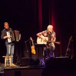 Werner Schmidbauer und Martin Kälberer am 25. Februar 2015 in der Kulturhalle in Grafenrheinfeld © Gerald Langer