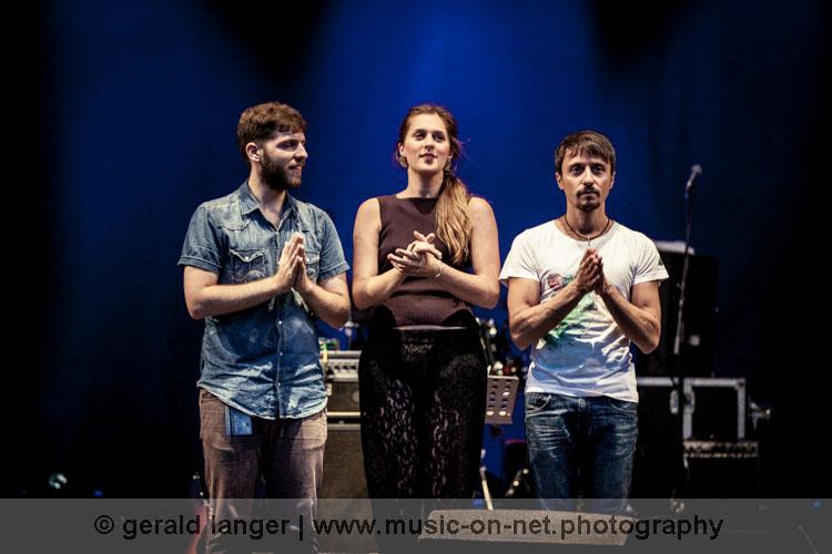 Carolina Bubbico Trio am 8. August 2015 beim Würzburger Hafensommer © Gerald Langer