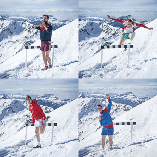The-Great-Harry-Hillman-Schnee - Pressefoto