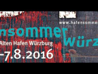 Hafensommer Würzburg 2016 - Pressefoto