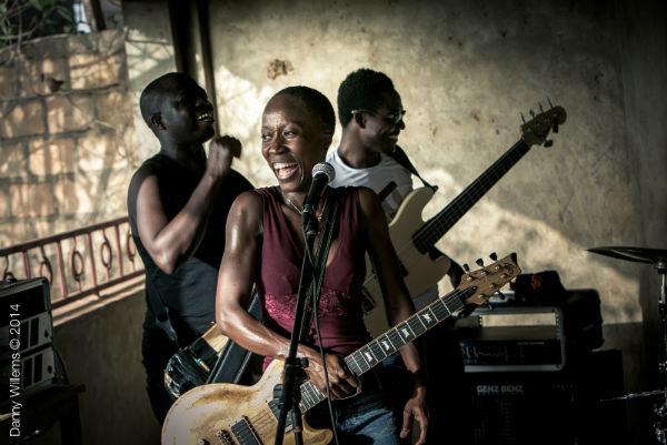 Rokia Traoré Band © Danny Williams