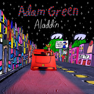 ADAM GREEN- Aladdin - Cover (2016)