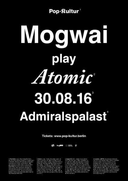 Mogwai-Atomic-Admiralspalast-Pop-Kultur-Plakat