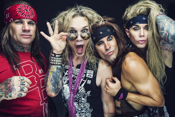 STEEL PANTHER © photo by David Jackson