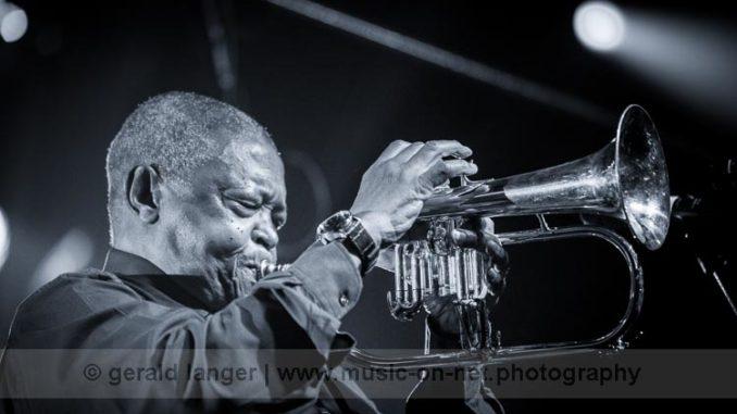 Hugh Masekela - Africa Festival Würzburg 2016 © Gerald Langer
