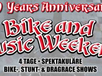 Bike And Music Weekend 2016 in Geiselwind