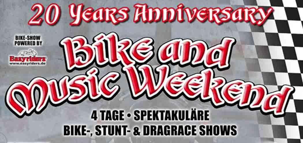 Bike And Music Weekend 2016 in Geiselwind