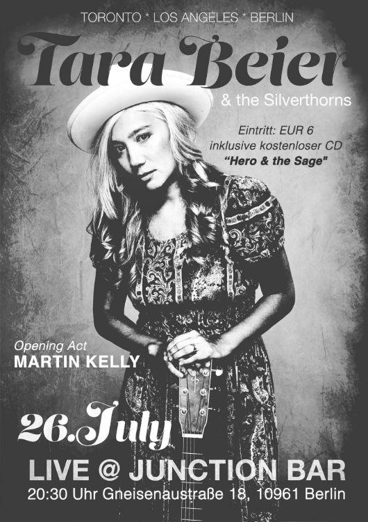 Tara Beier_Berlin Poster_official on July 26th, 2016