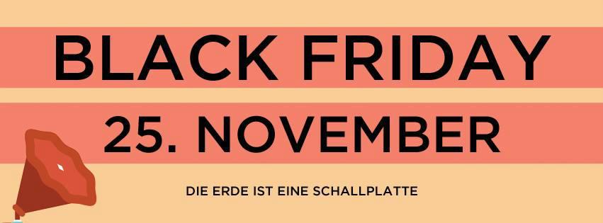 Record Store Day - Black Friday - 25. November 2016