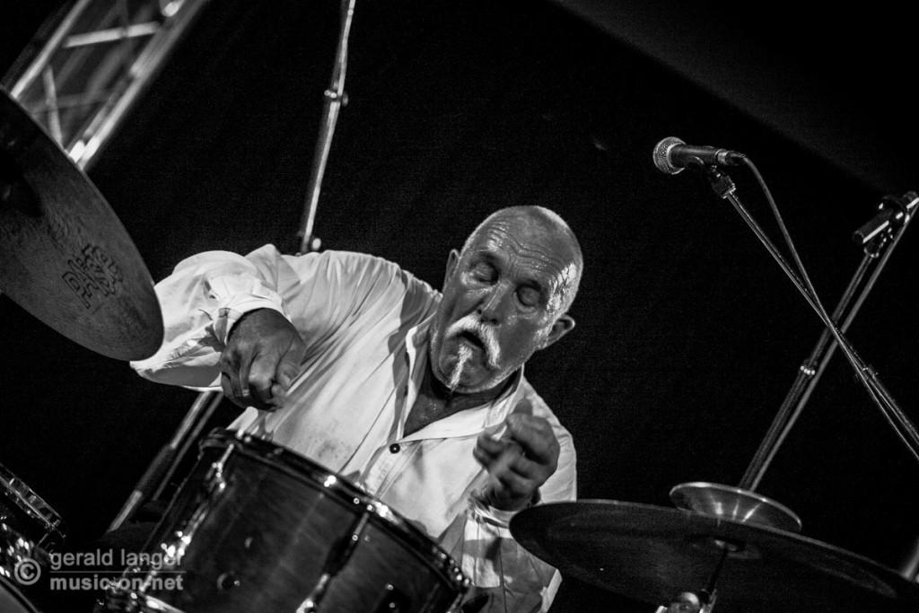 La Paloma - Guenter Baby Sommer - Jazzfestival Wuerzburg 2014 © Gerald Langer