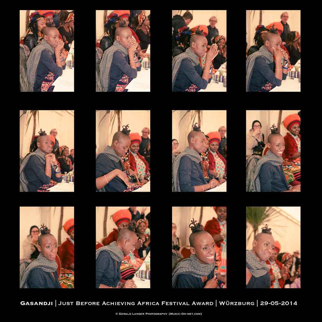 Africa Festival Wuerzburg 2014 - Gasandji - Festival Award © Gerald Langer