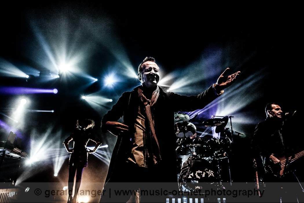 Simple Minds - Stadthalle Fürth 2014 © Gerald Langer