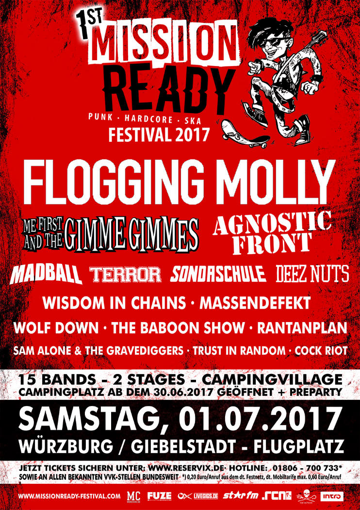 Mission Ready Festival Plakat 2017