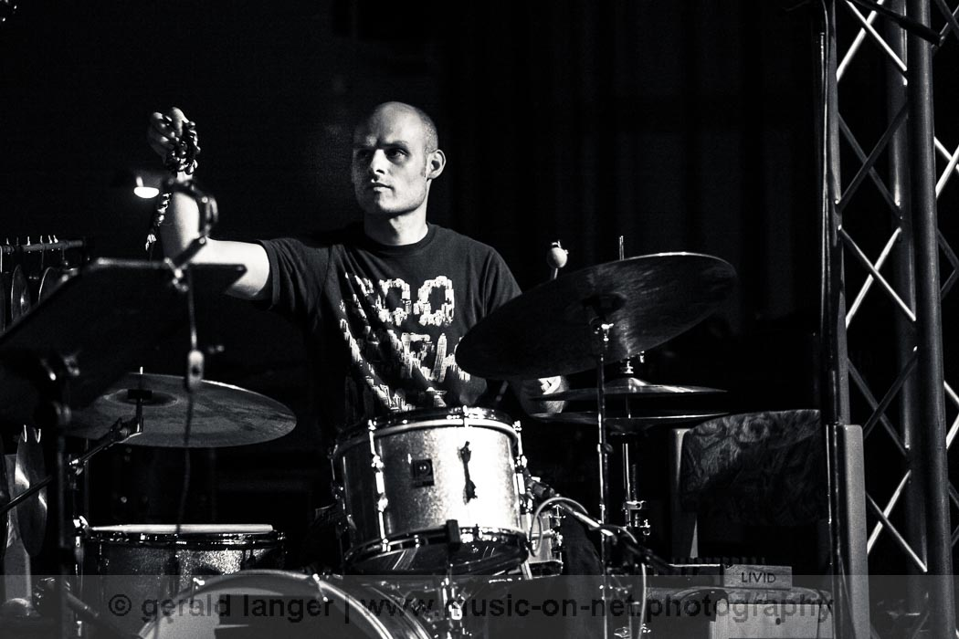 Eric Schaefer & The Shredz - Jazzfestival Wuerzburg 2013 © Gerald Langer