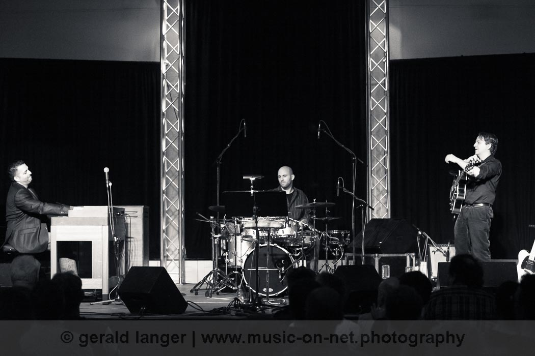 Hammond Eggs Trio Feat. Randy Brecker - Jazzfestival Würzburg 2013 © Gerald Langer