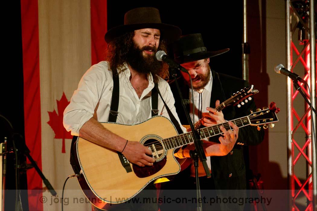 The Dead South - Bluegrass Festival Buehl 2017 © Joerg Neuner