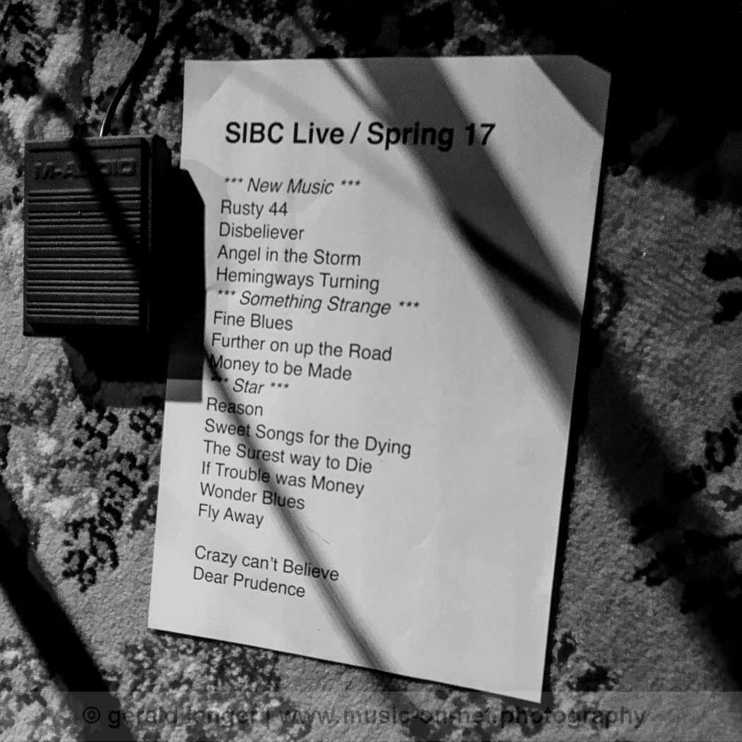 Setlist - Spielman In Bad Company - Stattbahnhof Schweinfurt 2017 © Gerald Langer