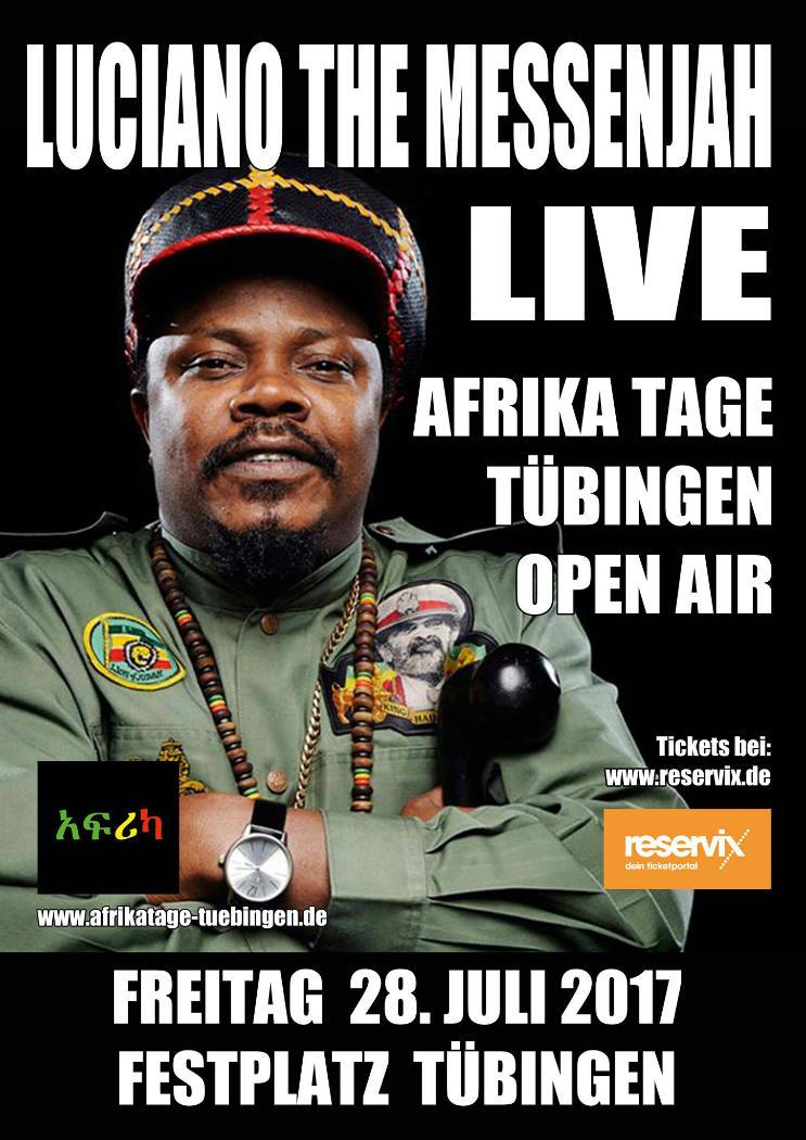 Luciano Messenjah - Afrika Tage Tübingen 2017 - Pressefoto Quelle: Afrika Tage Tübingen