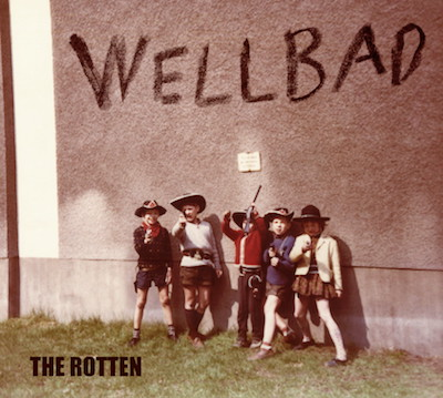 Wellbad_The Rotten_Album_Cover_2017