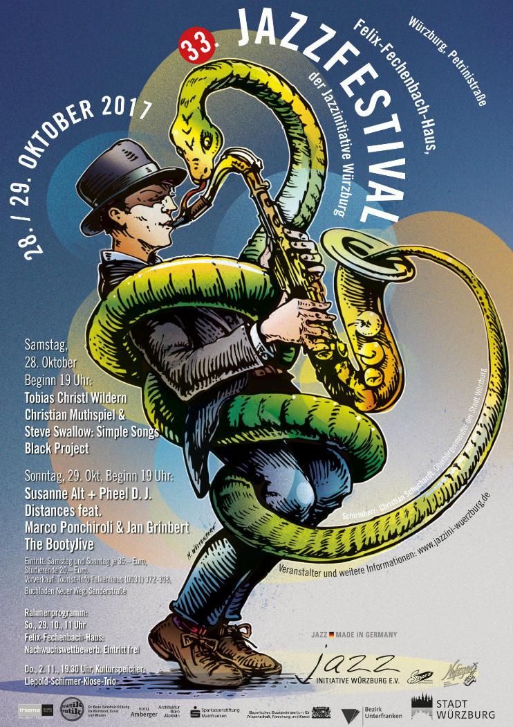 Jazzfestivalplakat 2017