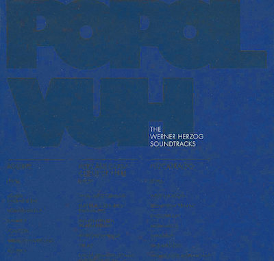 Popol Vuh - The Werner Herzog Soundtracks (2010) - Cover