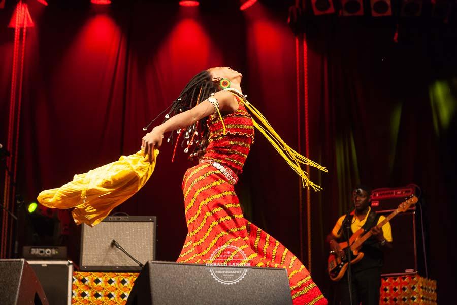 Fatoumata Diawara - Hafensommer Wuerzburg 2012 © Gerald Langer