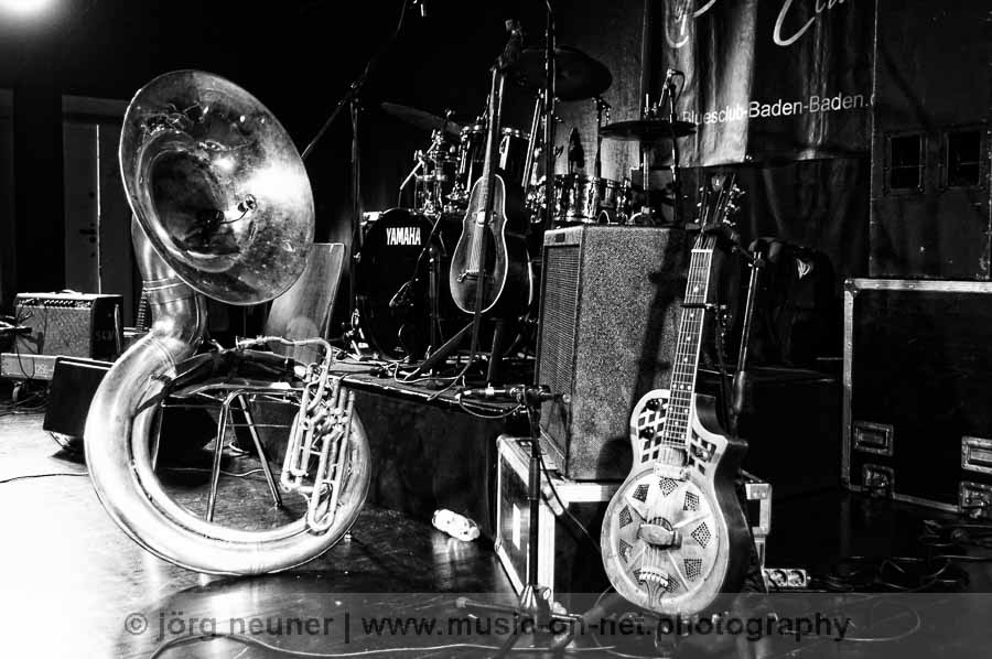 Hazmat Modine - Blues-Club Baden-Baden 2018 © Joerg Neuner