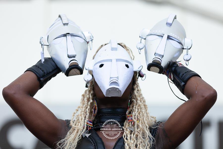 Dobet Gnahoré - Africa Festival Wuerzburg 2018 © Gerald Langer