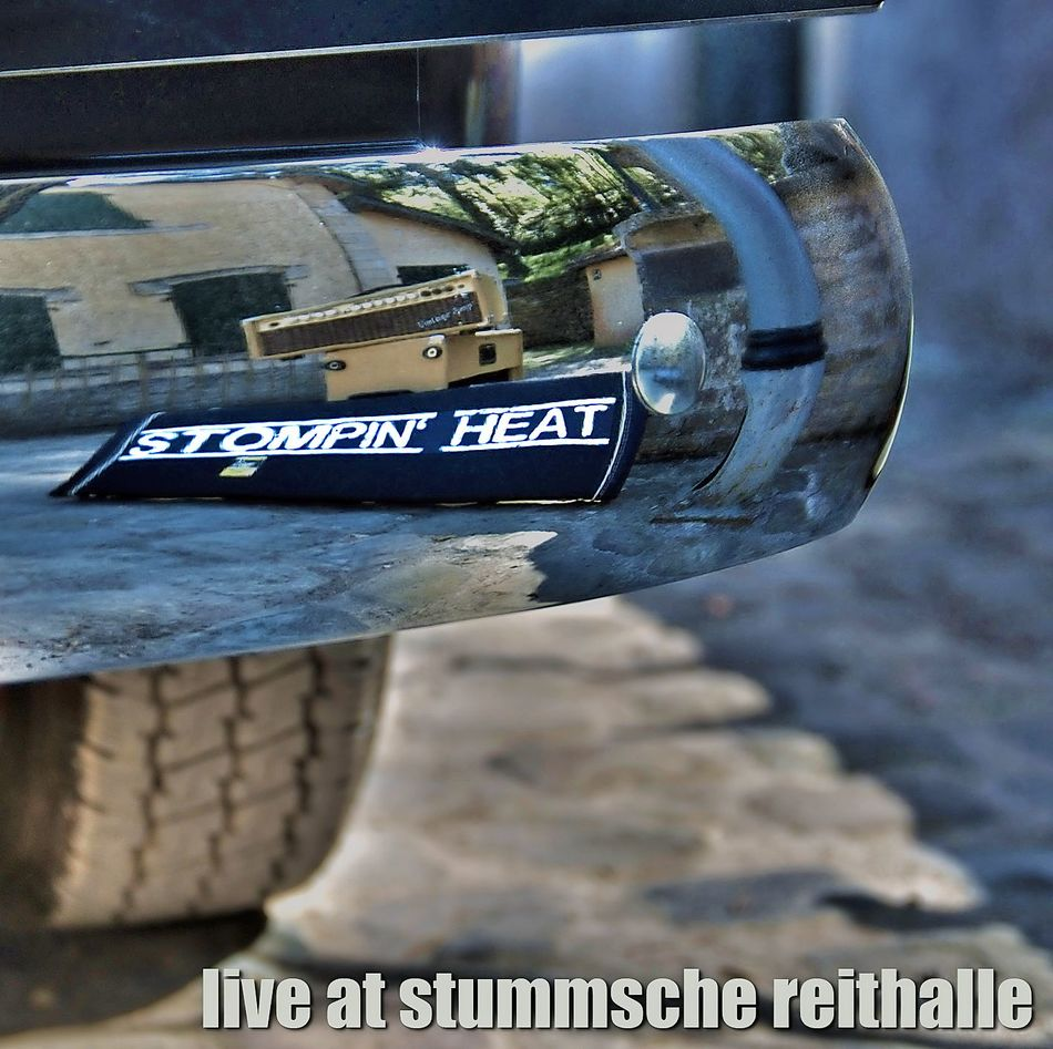 Stompin' Heat - Live At Stummsche Reithalle - 2018 - Album - Cover © Karsten Schuh
