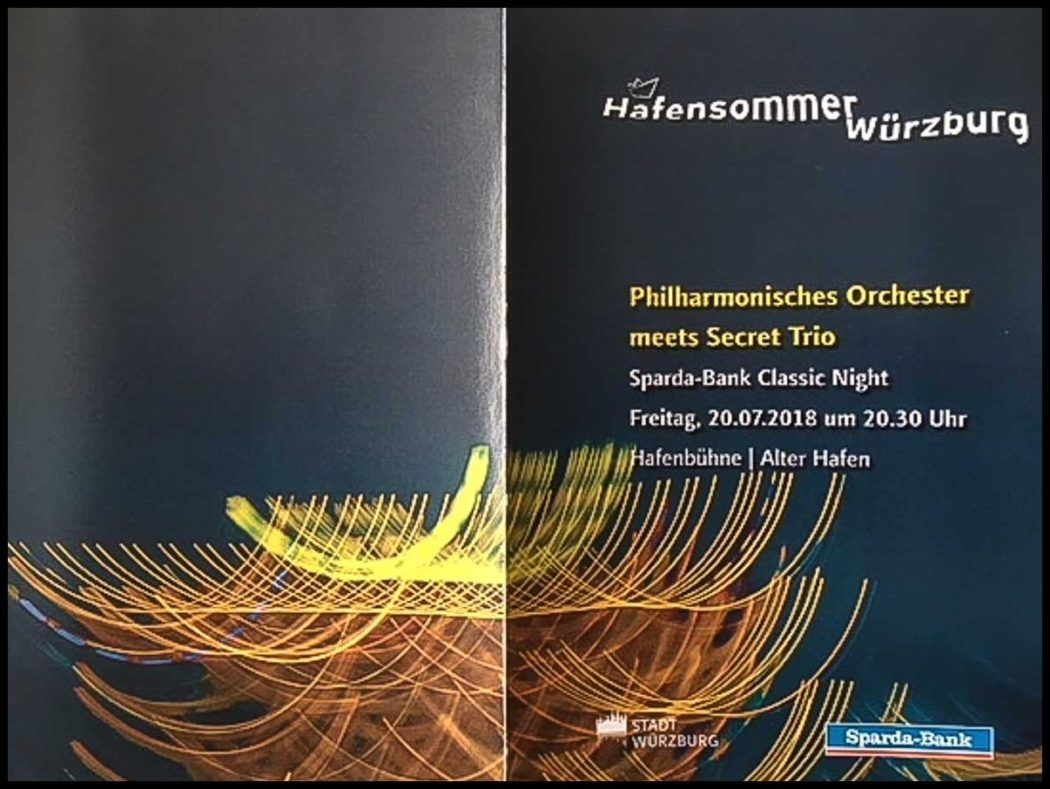 Hafensommer Wuerzburg 2018 - Sparda-Bank Classic Night - Faltblatt - 1