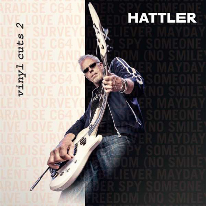 Hattler - Vinyl Cuts II - Album Cover (2018)