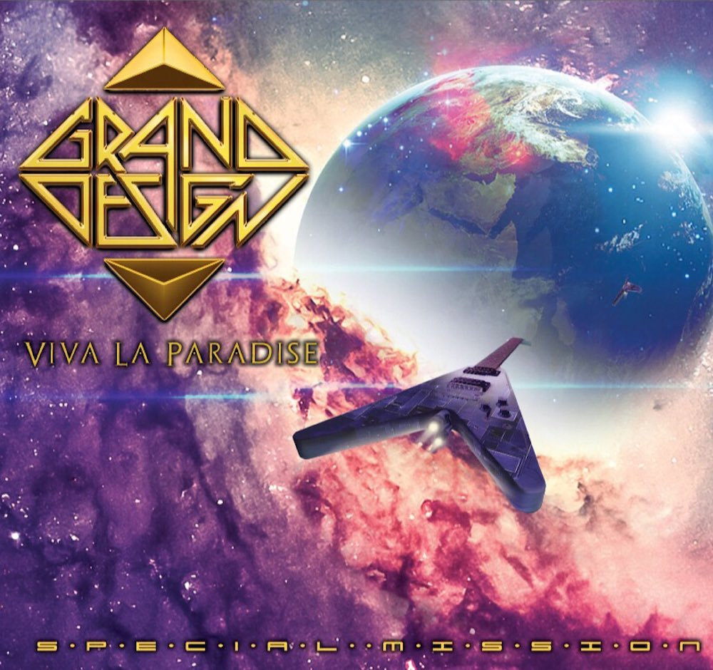 GRAND DESIGN - VIVA LA PARDISE - SPECIAL MISSION - ALBUM - COVER 2018