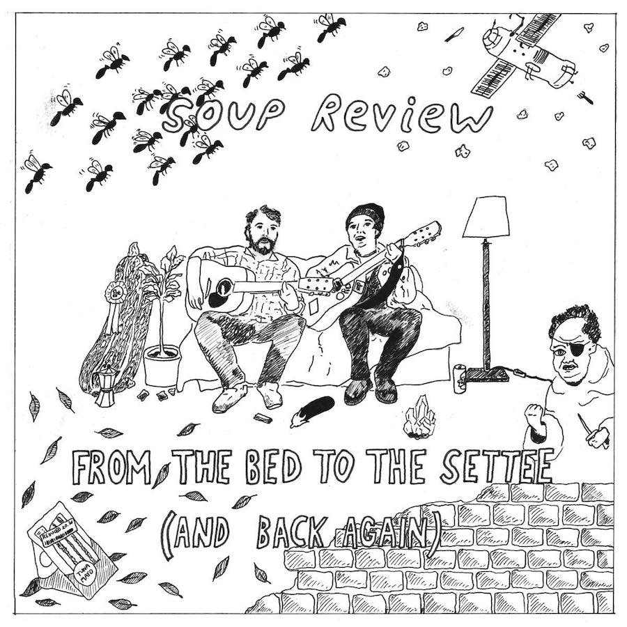 Soup Review - From The Bed To The Settee (and back again) - Album - Cover