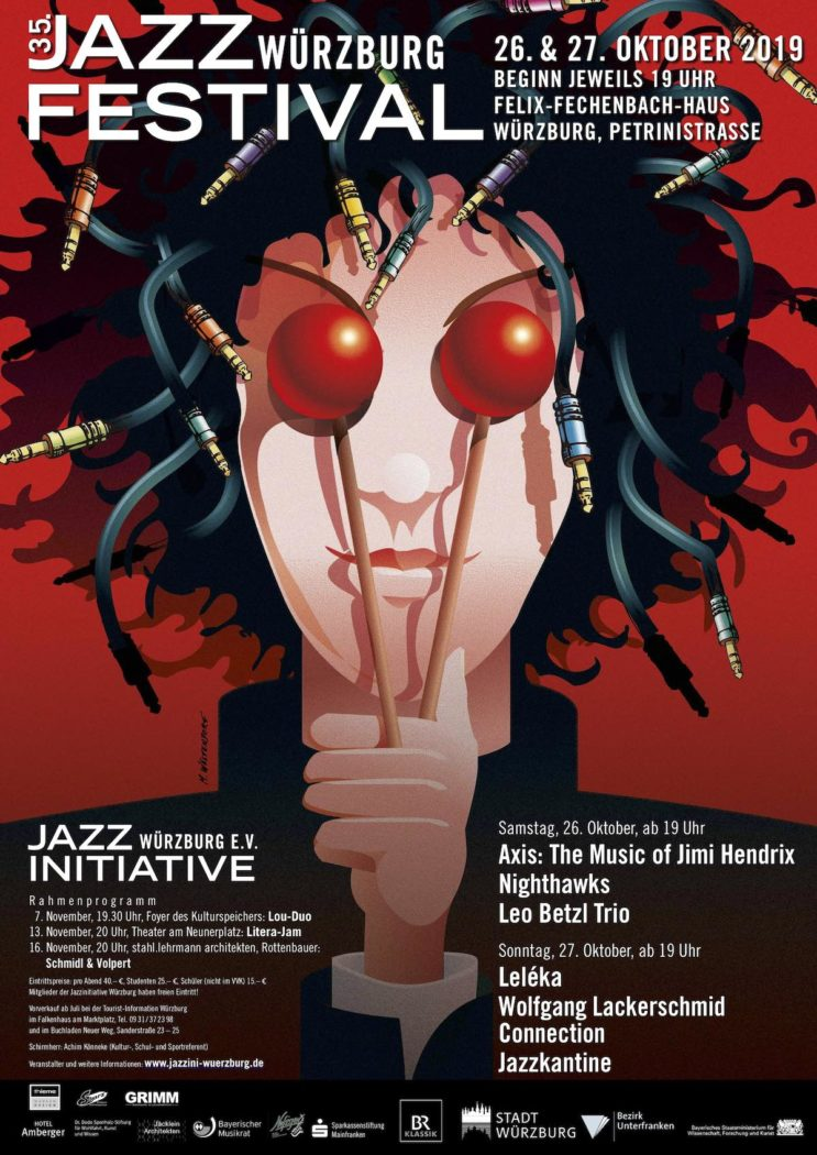 35. Jazzfestival Plakat 2019 © Markus Westendorf_web