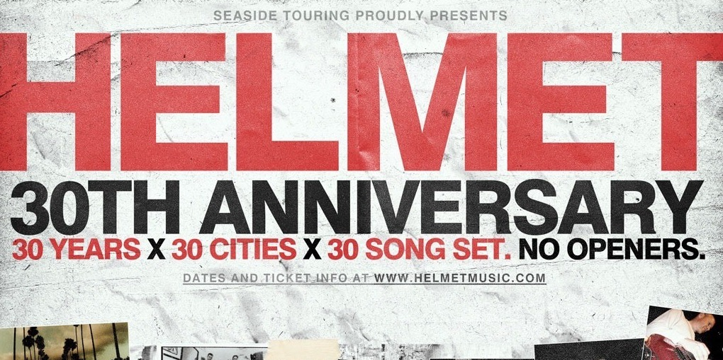 Helmet - 30th Anniversary - Header