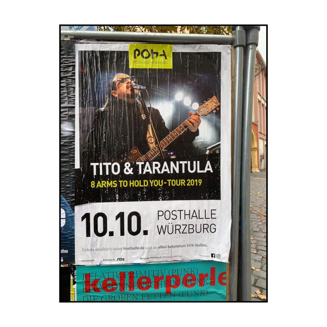 Tito & Tarantula - Tour Poster 2019