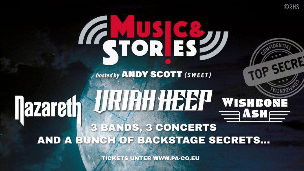 Music & Stories - Posthalle Wuerzburg 2020