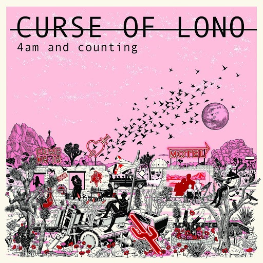 Curse Of Lono - 4am And Counting (2019) - Album_Cover