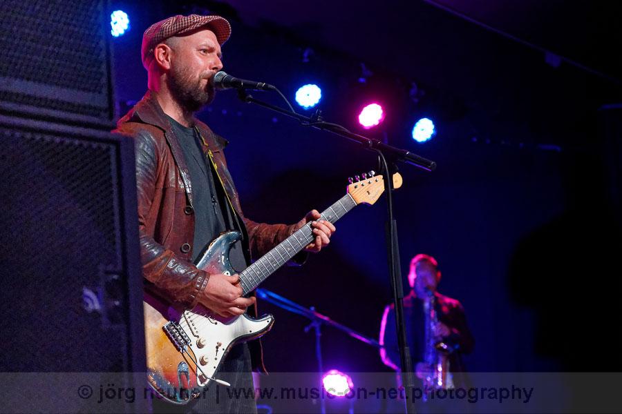 Henrik Freischlader Band am 26.09.2020 im Blues-Club Baden-Baden